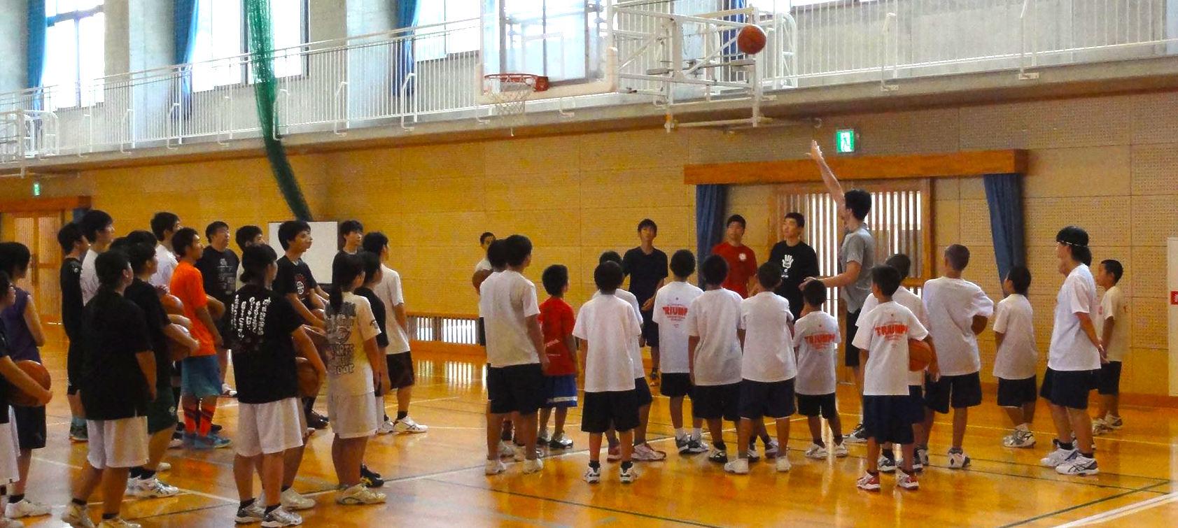 熊本県人吉高校で「+ONE キャラバン」を開催しました